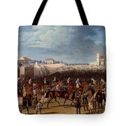 The Race Over, Print Made By Charles Tote Bag