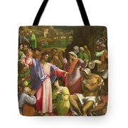 The Raising Of Lazarus, C.1517-19 Oil On Canvas Transferred From Wood Tote Bag