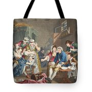 The Rake In Prison, Plate Vii, From A Tote Bag
