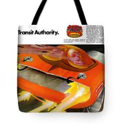 The Rapid Transit Authority Tote Bag
