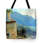The Ravello Coastline Tote Bag