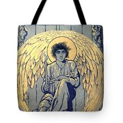 The Raven By Edgar Allan Poe Book Cover Tote Bag