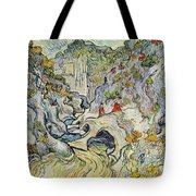 The Ravine Of The Peyroulets Tote Bag by Vincent van Gogh
