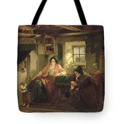 The Ray Of Sunlight, 1857 Oil On Canvas Tote Bag