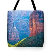 the rd through Zion Tote Bag