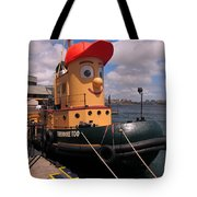The Real Theodore Tug Boat Lives In Halifax Tote Bag