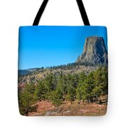 The Realm Of Devils Tower Tote Bag