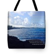 The Reason I Exist Tote Bag