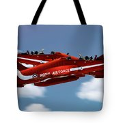 The Red Arrows Synchro Pair Tote Bag