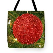 The Red Ball Tote Bag