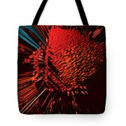 The Red Blob Of Courage Tote Bag