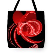 The Red Cat Tote Bag