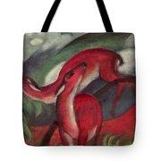The Red Deer Tote Bag