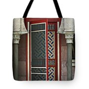 The Red Door Tote Bag