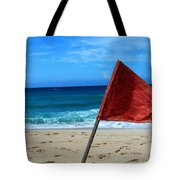 The Red Flag Tote Bag