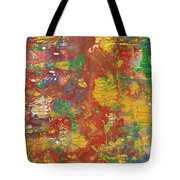 The Red Garden Path Tote Bag
