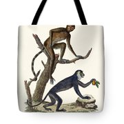 The Red Howler Monkey Tote Bag