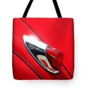 The Red Jag Tote Bag