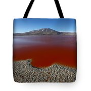 The Red Lagoon Tote Bag