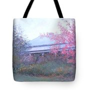 The Red Maple Tree Tote Bag