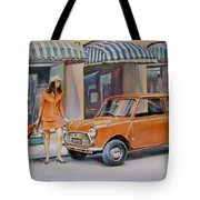 The Red Mini Tote Bag