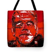 The Red Monster Tote Bag