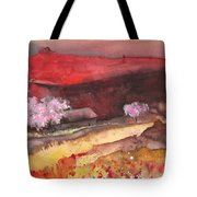 The Red Mountain Tote Bag