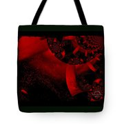 The Red Planet Cometh Tote Bag