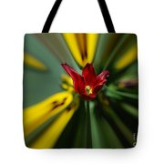 The Red Poppy Tote Bag