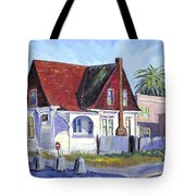 The Red Roof House Tote Bag