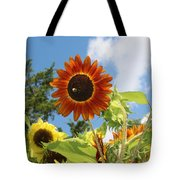 The Red Stand Out Tote Bag