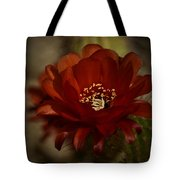 The Red Torch  Tote Bag