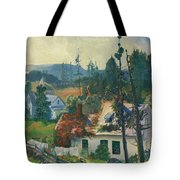 The Red Vine. Matinicus Island. Maine Tote Bag