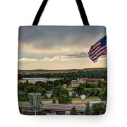 The Red White And Blue Tote Bag