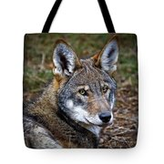 The Red Wolf Tote Bag