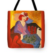 The Redhead Tote Bag