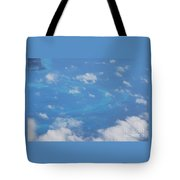 The Reefs From The Air, Bermuda # 6 Tote Bag