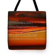 The Renewal Poem Tote Bag