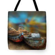 The Rest Of The Righteous Tote Bag by Wayne King