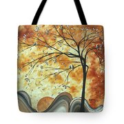 The Resting Place By Madart Tote Bag