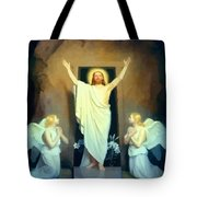 The Resurrection Of Christ By Carl Heinrich Bloch  Tote Bag
