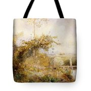 The Return From The Harvest Field Tote Bag by John William North