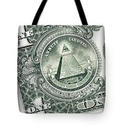 The Reverse Of The Great Seal Tote Bag
