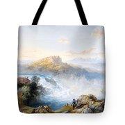 The Rhine Falls At Schaffhausen Tote Bag