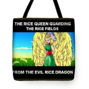 The Rice Queen  And The Corn Queen Cd Demo From The Wheat-shire Collection Tote Bag