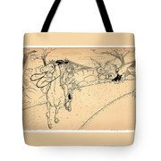 The Ride Of Paul Revere Tote Bag