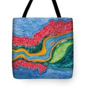 The Riffles Original Painting Tote Bag