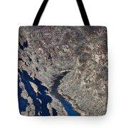 The Rio Grande River-arizona  Tote Bag