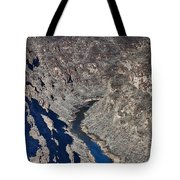 The Rio Grande River-arizona  Tote Bag