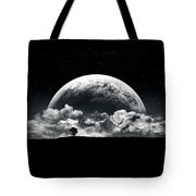 The Rise Of A Planet II Tote Bag